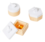 SPRING PALS TEALIGHT HOLDER TRIO