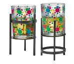 BLOOMING DOTS VOTIVE HOLDER PAIR