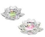 LOTUS FLOWER VOTIVE HOLDER PAIR