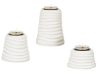SANDWAVES ELEVATE TEALIGHT HOLDER TRIO