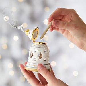 SMARTSCENTS BY PARTYLITE™ FLAMELESS FRAGRANCE HOLDER – OPULENT BELL HANGING ORNAMENT