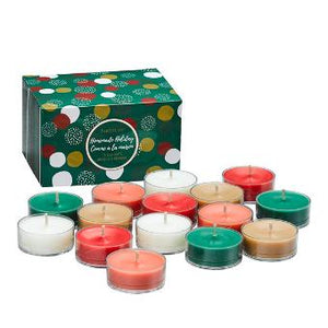 HOMEMADE HOLIDAY 15-PIECE TEALIGHT CANDLE SAMPLER
