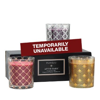 AFTER DARK™ JAR CANDLE SAMPLER, SET OF 3