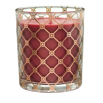 Featuring fragrances designed to light your fire, in a chic glass jar with gold accents. Sultry and alluring, Cashmere Cassis blooms with fragrant jasmine, Siberian iris and rose petals, warmed by ripe orchard fruits, patchouli and sandalwood, unfolding in an enticing and intoxicating bouquet.