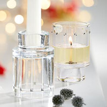 Load image into Gallery viewer, SIMPLE ELEGANCE SWAROVSKI® CRYSTAL CANDLE HOLDER