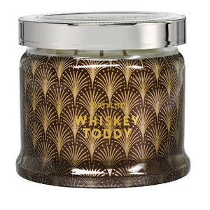 3-Wick Jar Candle, fragrance blend in a decorative glass jar