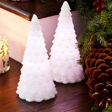 Load image into Gallery viewer, LIGHT ILLUSIONS™ LED SNOWY TREE – COLOR-CHANGING