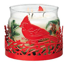 Load image into Gallery viewer, CARDINAL JAR CANDLE SLEEVE