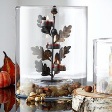 Load image into Gallery viewer, AUTUMNSCAPE 3-TEALIGHT CANDLE TREE HOLDER