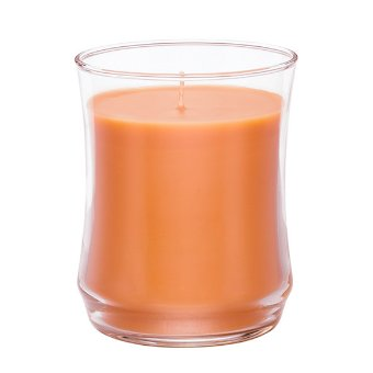 Featuring a single wick and a unique silhouette plus a wax color inspired by the fragrance. Spiced Pumpkin combines sparkling woodland pumpkin with warming ginger and clove against undeetones of creamy vanilla bean. Burn time: 40-60 hours