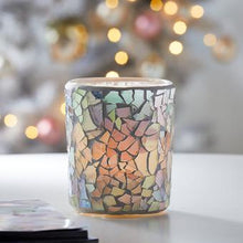 Load image into Gallery viewer, IRIDESCENT BLUSH VOTIVE CANDLE HOLDER