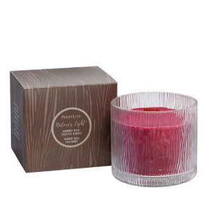 NATURE'S LIGHT™ CHRYSANTHEMUM CEDARWOOD JAR CANDLE