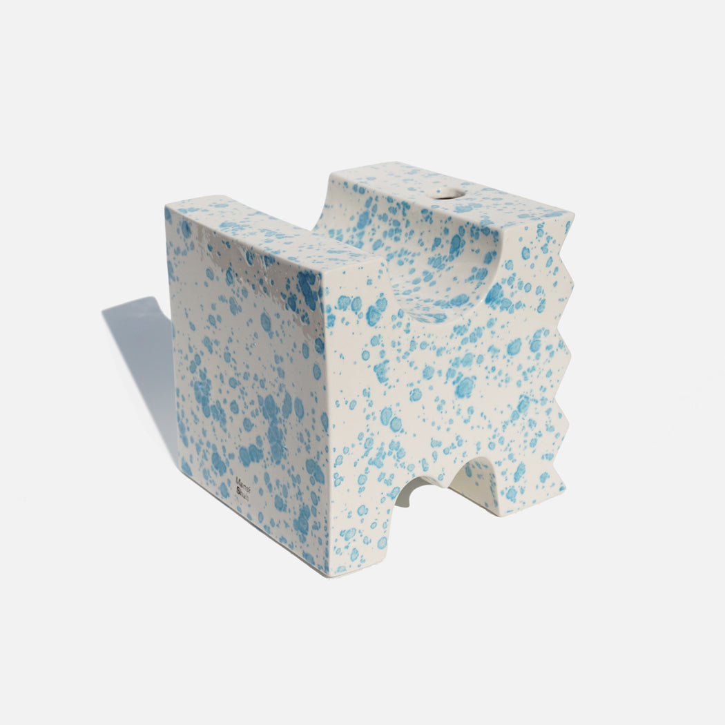 Bookend Vase — Blue