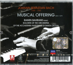 Musical Offering (Die Musikalisches Opfer) with personalized Autograph of the Artist