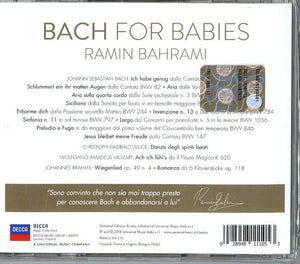 Bach for Babies with personalized Autograph of the Artist