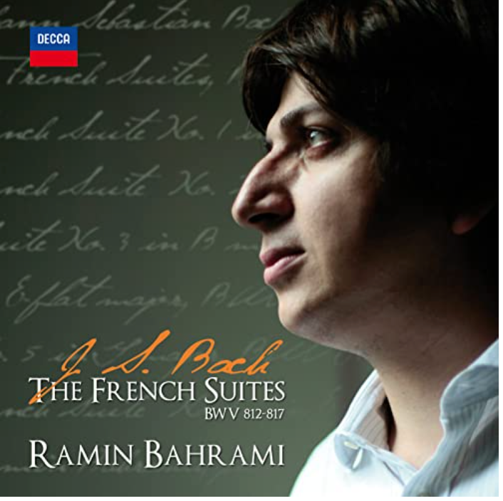 The French Suites BWV 812-817 with personalized Autograph of the Artist