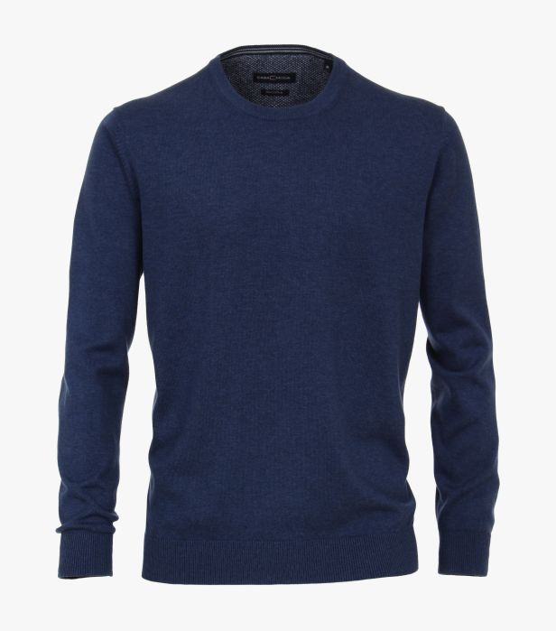 Casa Moda - Round Neck Jumper - 144 Navy