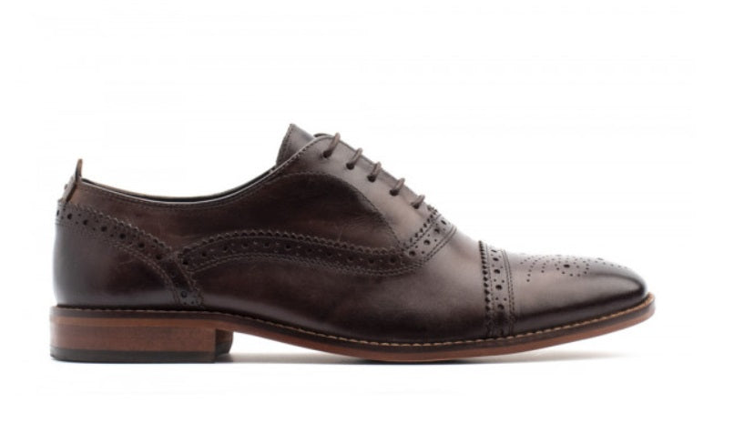 Base London Cast Shoe - Washed Brown