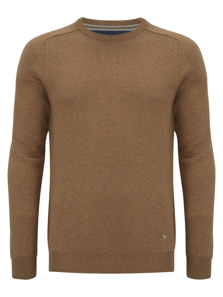 Daniel Grahame Crew Neck Sweater - Yellow
