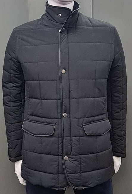 Douglas Kendrick Casual Coat - Navy