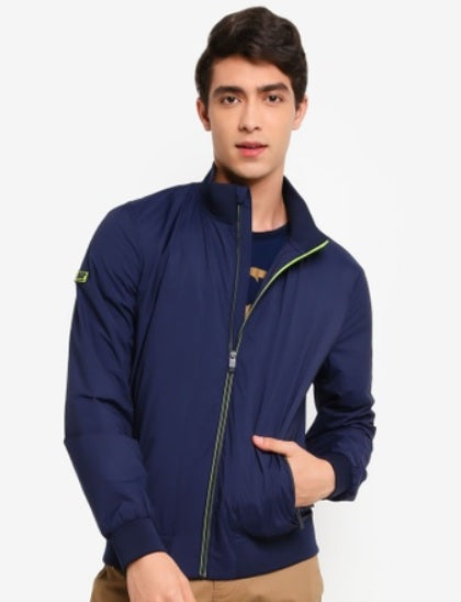 Superdry Lightweight Harrington Jacket - Rich Navy
