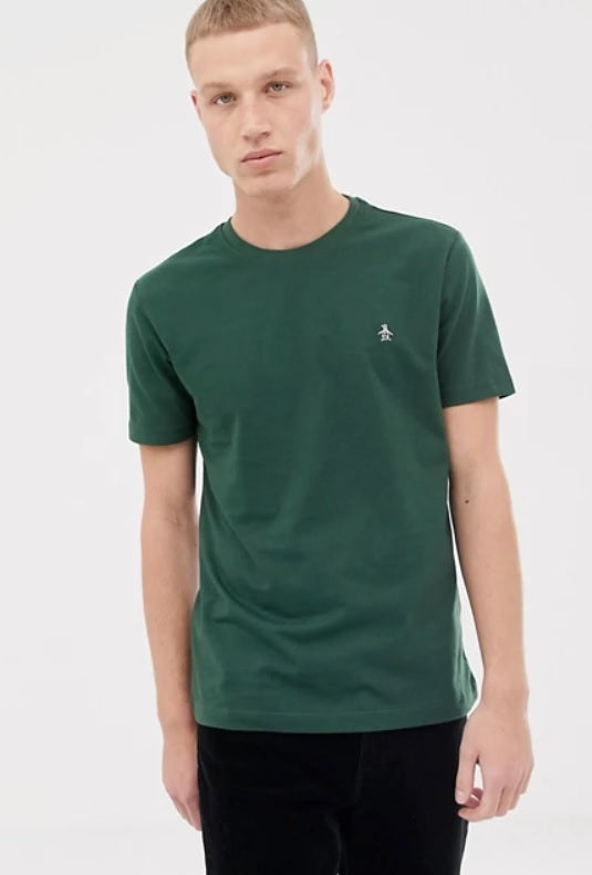 Penguin Original Icon Logo Pinpoint T-Shirt - Sycamore