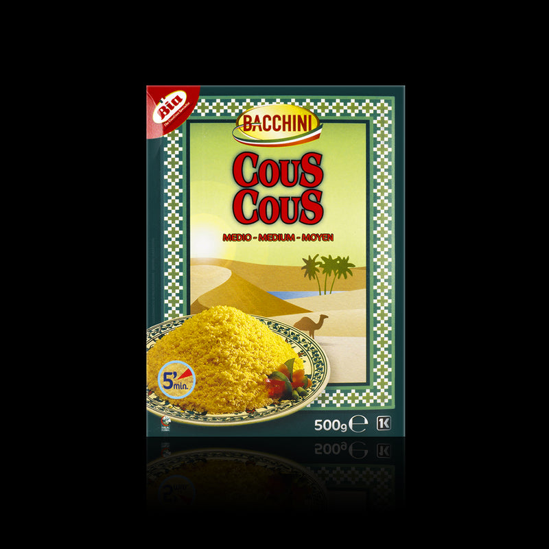 Cous cous medium bacchini 500 g