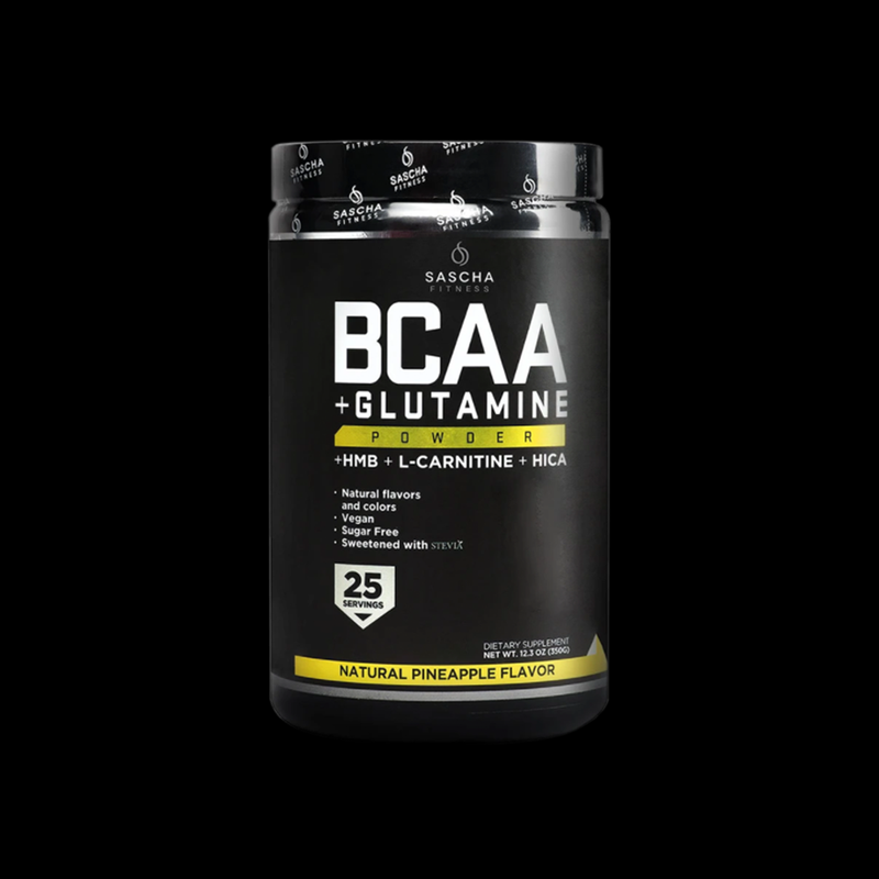 BCAA Glutamine Pineapple Sascha Fitness 350g