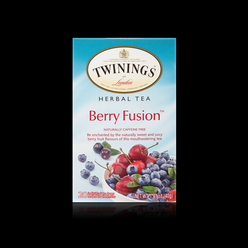 Berry fusion herbal tea twinings 40 g