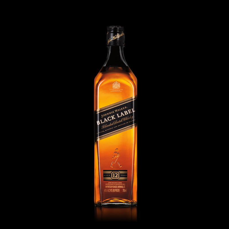 Black Label Blended Scotch Whisky Johnnie Walker 750 ml