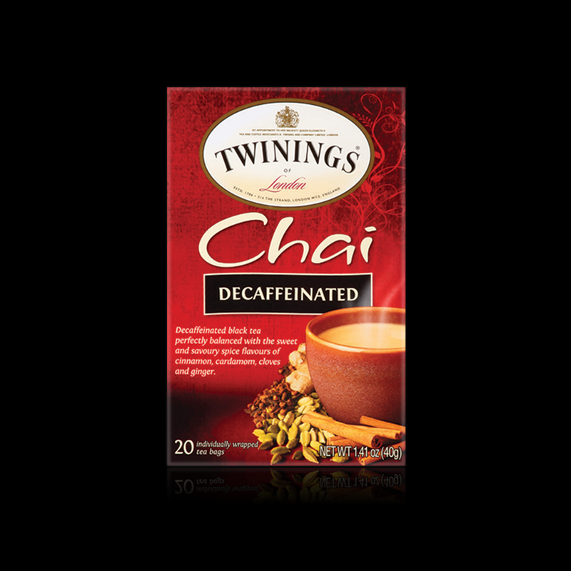 Chai decaffeinated twinings 40 g