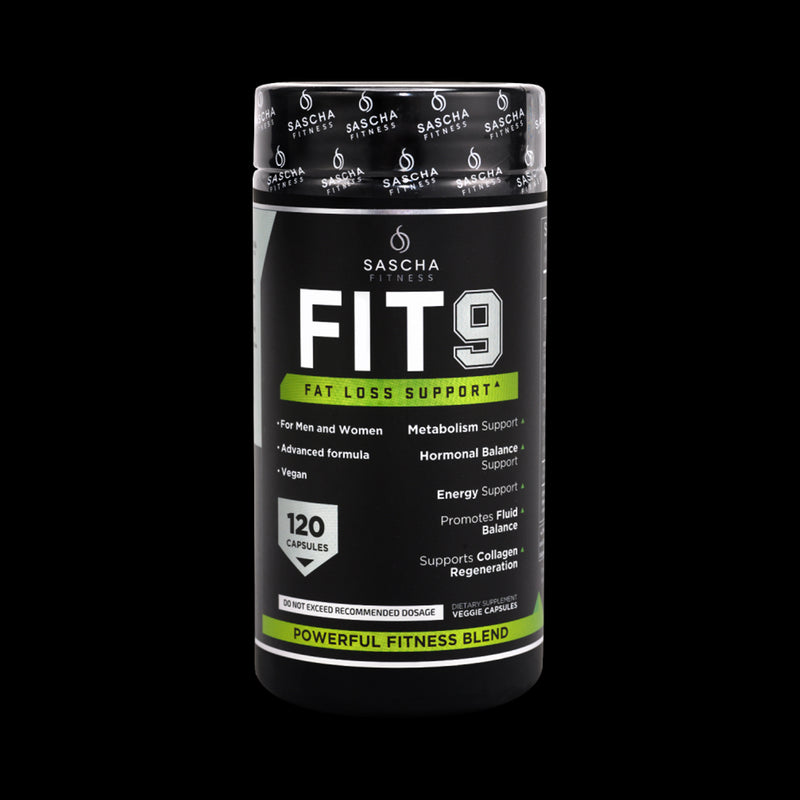 Fit 9 Sascha Fitness 120 Capsules