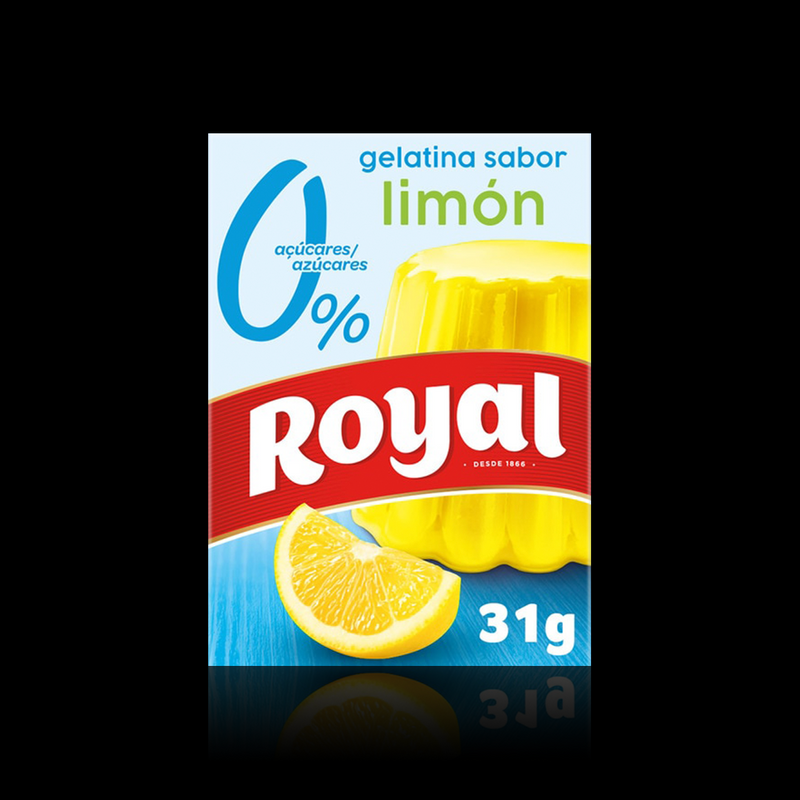 Gelatina 0% Azucar Limon Royal 31g