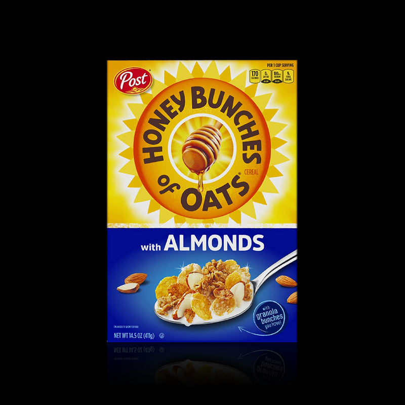 Crispy Witts Almonds Honey Bunches Of Oats Post 1.36 Kg