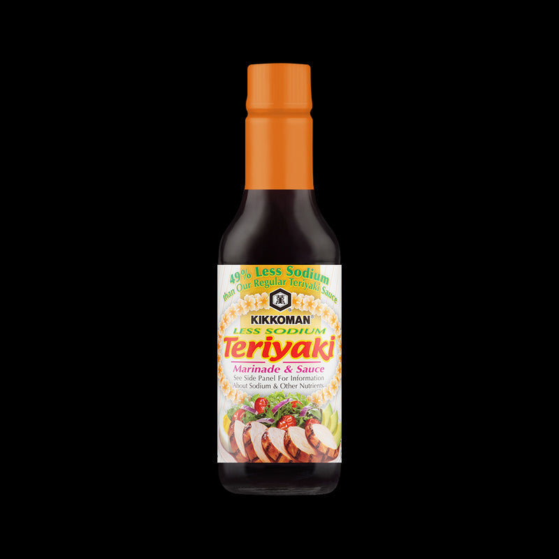 Marinade & Sauce Teriyaki Less Sodium Kikkoman 296 ml
