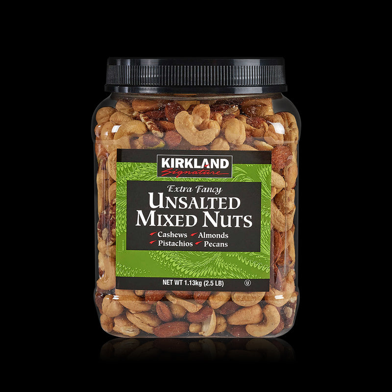 Unsalted Mixed Nuts Kirkland 1.13 kg