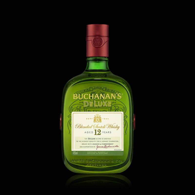 Blended scoth whisky de luxe 12 years buchanans 750 ml