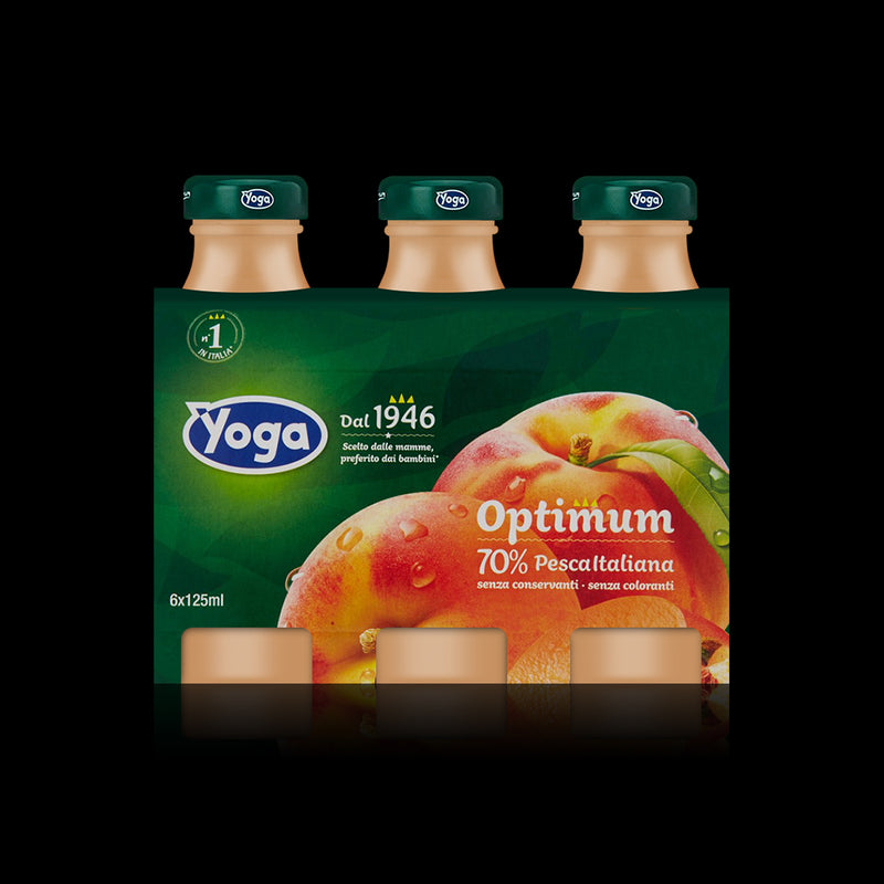 Optimum Pesca Italiana Yoga  125ml 6-pack