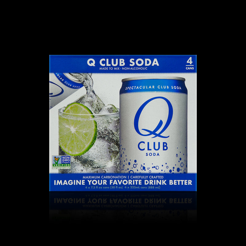 Club Soda Q 222ml (4-pack)