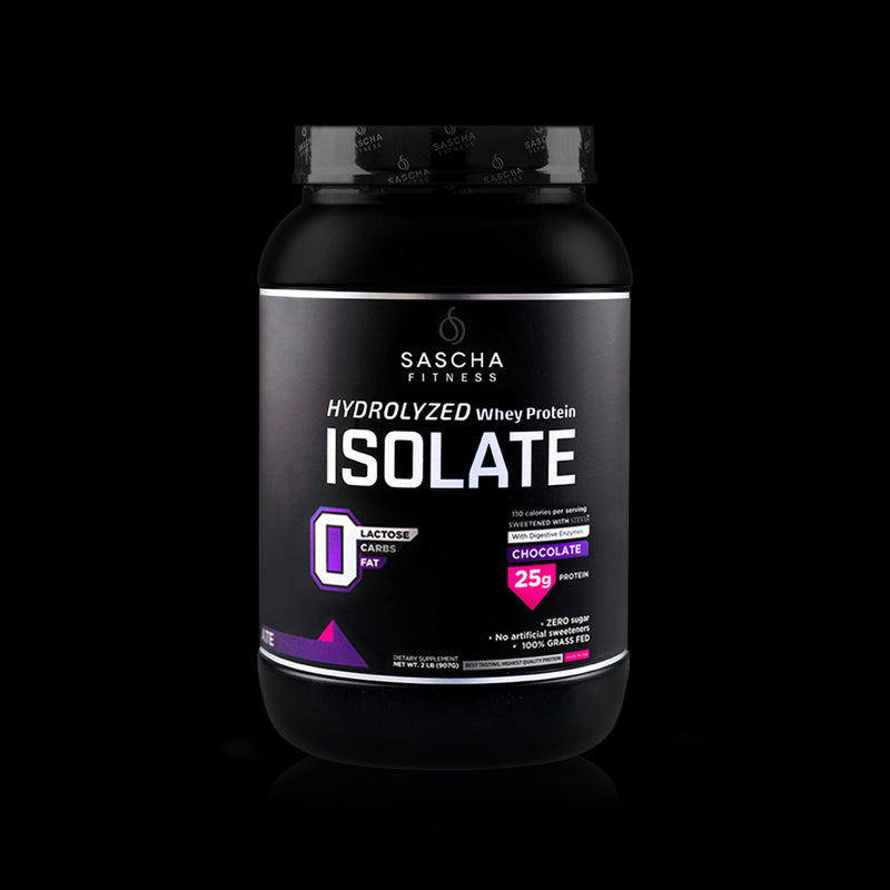 Whey Protein Isolate Chocolate Sascha Fitness 907g