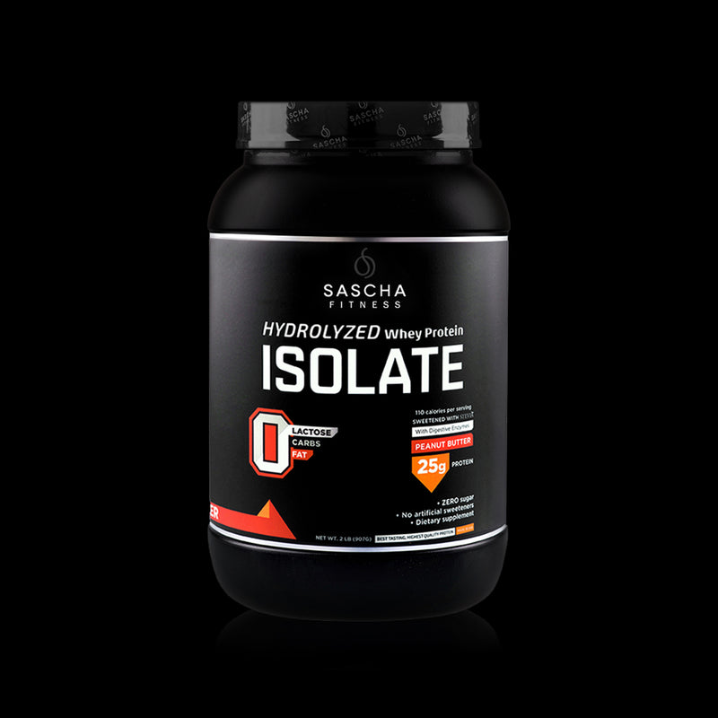 Whey Protein Isolate Peanut Butter Sascha Fitness 907g