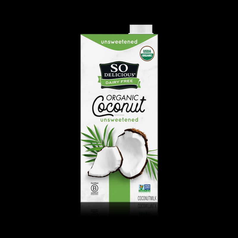 Organic Coconut Unsweetened So Delicious 946 ml