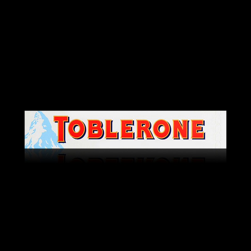 Swiss White Chocolate Toblerone 100g