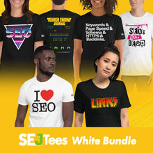 Load image into Gallery viewer, SEO-SIX Bundle - 6 Short-Sleeved Unisex T-Shirts