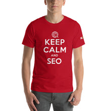 Load image into Gallery viewer, Keep Calm and SEO Unisex T-Shirt
