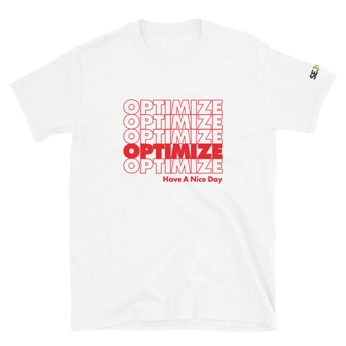 Optimize SEO Short-Sleeve Unisex T-Shirt