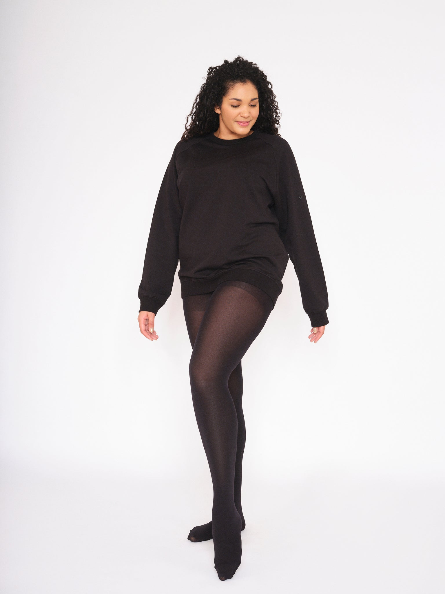 MS. SHAPE Comfortable Opaque Tights 80 Denier Black & Colors