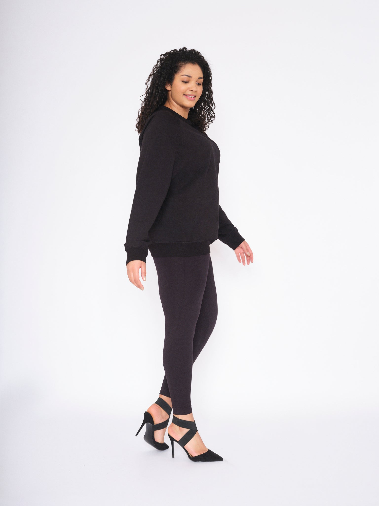 Ms Shape 180 Denier Black Opaque Leggings
