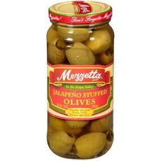 Mezzetta Jalapeno Stuffed Olives (6x10oz)