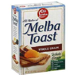 Old London Whole Grain Melba Snacks (12x5.25oz)